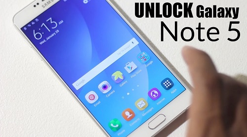 Unlock Samsung Galaxy Note 5